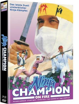 Ninja - Champion on Fire (Cover A, Edizione Limitata, Mediabook, Blu-ray + DVD)