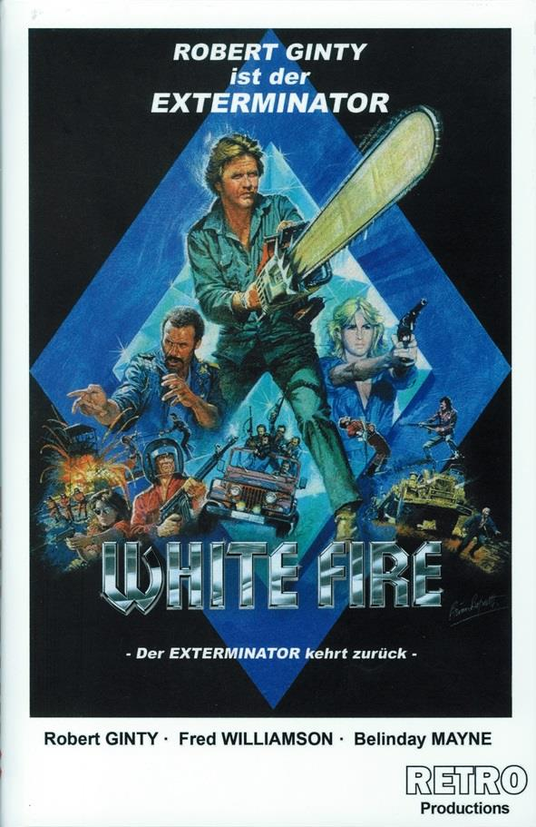 White Fire - Der Todesdiamant (1985) (Grosse Hartbox, Cover B, Limited Edition)