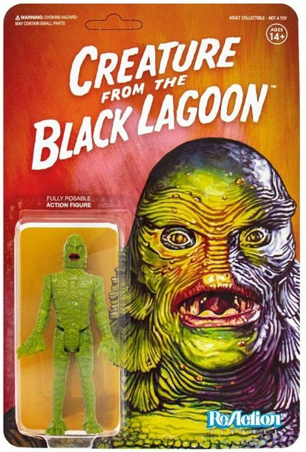 Universal Monsters - Creature From The Black Lagoon (Reaction Figure)