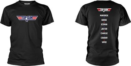 Top Gun - Names (Black)