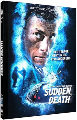 Sudden Death (1995) (Cover A, Limited Edition, Mediabook, Uncut, Blu-ray + DVD)