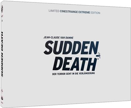 Sudden Death (1995) (Wattiert, Cover Q, Cinestrange Extreme Edition, Limited Edition, Mediabook, Uncut, Blu-ray + DVD)