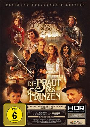 Die Braut des Prinzen (1987) (Ultimate Collector's Edition, Limited Edition, Mediabook, 4K Ultra HD + Blu-ray + 2 DVDs)