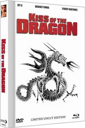 Kiss of the Dragon (2001) (Cover B, Extended Edition, Limited Collector's Edition, Mediabook, Uncut, Blu-ray + DVD)