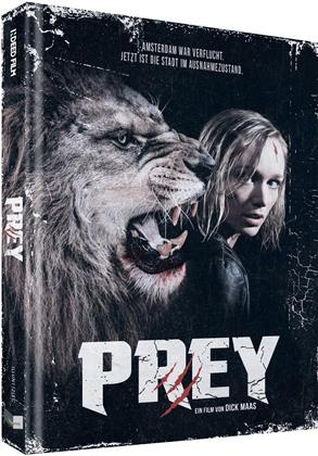 Prey (2016) (Cover C, Limited Collector's Edition, Mediabook, Uncut, Blu-ray + DVD)