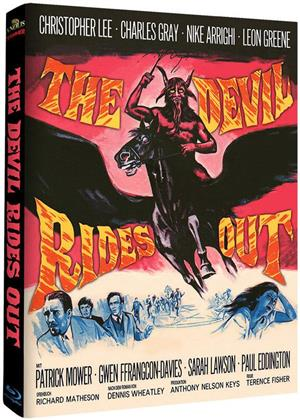 The Devil Rides Out (1968) (Hammer Edition, Cover A, Edizione Limitata, Mediabook, 2 Blu-ray)