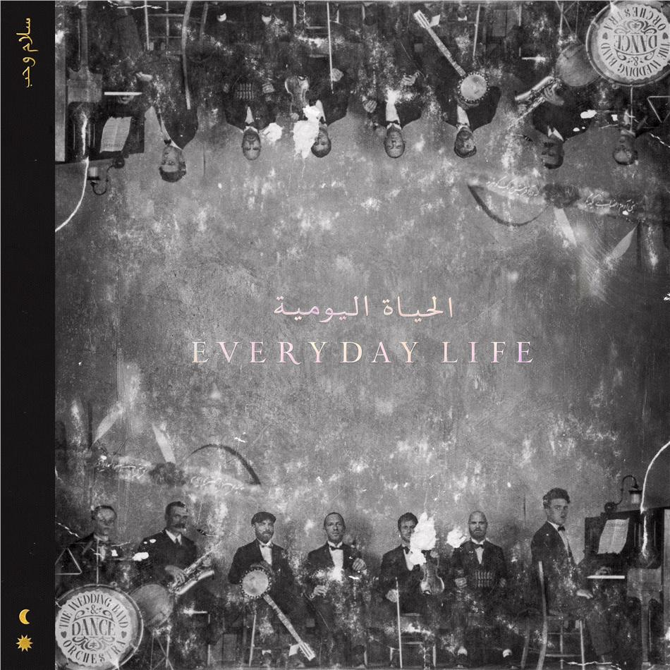 Coldplay - Everyday Life (Third Man Records, Indie Exclusive, Limited Edition, Gold Vinyl, 2 LPs + Digital Copy)