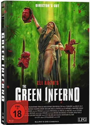 The Green Inferno (2013) (Cover C, Director's Cut, Limited Edition, Mediabook, Uncut, Blu-ray + DVD)