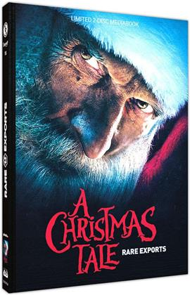 Rare Exports - A Christmas Tale (2010) (Cover B, Limited Edition, Mediabook, Uncut, Blu-ray + DVD)