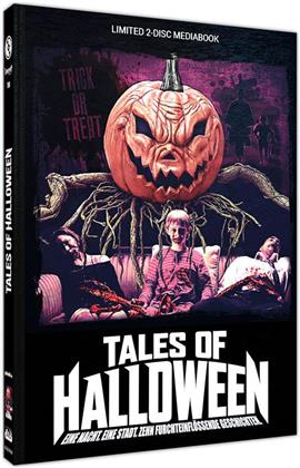 Tales of Halloween (2015) (Cover B, Limited Edition, Mediabook, Uncut, Blu-ray + DVD)
