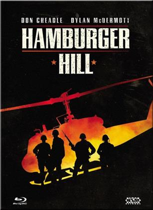Hamburger Hill (1987) (Cover A, Limited Collector's Edition, Mediabook, Uncut, Blu-ray + DVD)
