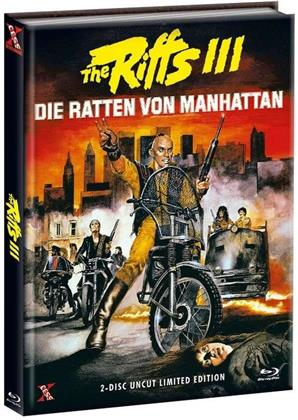 The Riffs 3 - Die Ratten von Manhattan (1984) (Cover A, Limited Edition, Mediabook, Uncut, Blu-ray + DVD)