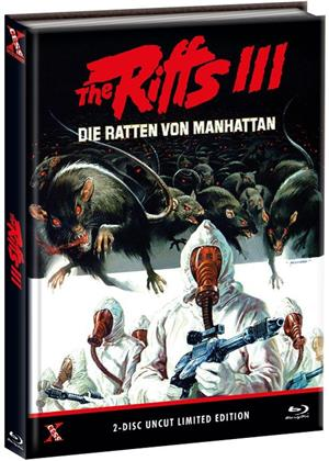 The Riffs 3 - Die Ratten von Manhattan (1984) (Cover B, Limited Edition, Mediabook, Uncut, Blu-ray + DVD)