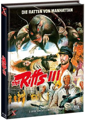 The Riffs 3 - Die Ratten von Manhattan (1984) (Cover C, Limited Edition, Mediabook, Uncut, Blu-ray + DVD)