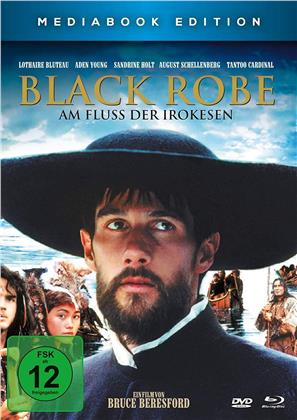 Black Robe - Am Fluss der Irokesen (1991) (Limited Edition, Mediabook, Blu-ray + DVD)