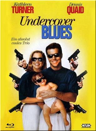 Undercover Blues - Ein absolut cooles Trio (1993) (Cover B, Limited Collector's Edition, Mediabook, Blu-ray + DVD)