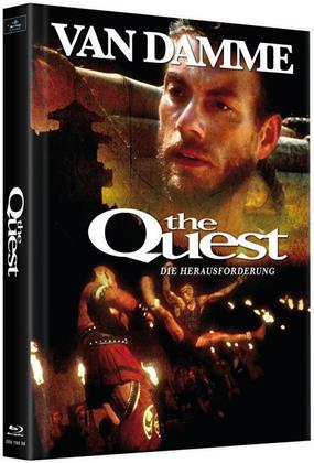 The Quest - Die Herausforderung (1996) (Cover B, Limited Edition, Mediabook, 2 Blu-rays)