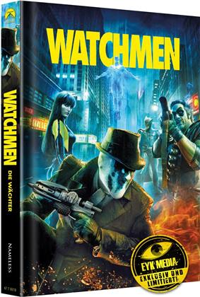 Watchmen (2009) (Cover A, Ultimate Cut, Limited Edition, Mediabook, 2 Blu-rays + 2 DVDs)