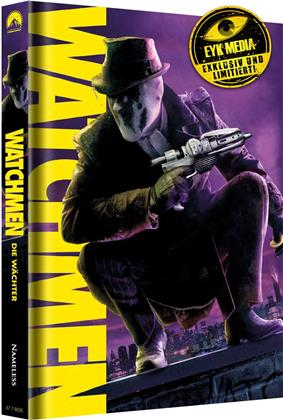 Watchmen (2009) (Cover B, Ultimate Cut, Limited Edition, Mediabook, 2 Blu-rays + 2 DVDs)