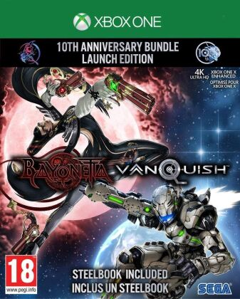 Bayonetta & Vanquish - 10th Anniversary Bundle (Limited Edition)