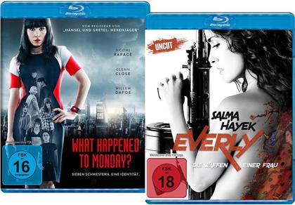 What Happened to Monday (2017) / Everly (2014) (Limited Edition, 2 Blu-rays)