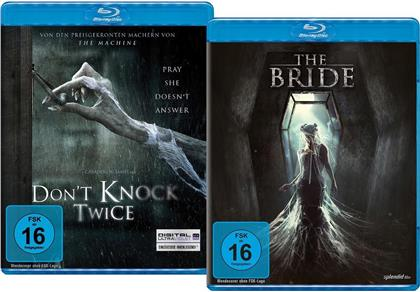 Don't Knock Twice (2016) / The Bride (2017) (Limited Edition, 2 Blu-rays)