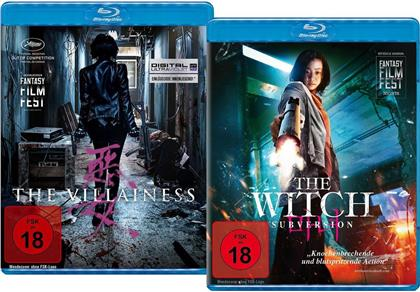 The Villainess (2017) / The Witch: Subversion (2018) (Limited Edition, 2 Blu-rays)