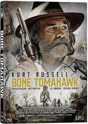 Bone Tomahawk (2015) (Cover E, Limited Edition, Mediabook, Blu-ray + DVD)