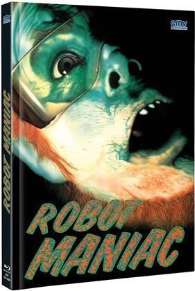 Robot Maniac (Cover A, Limited Edition, Mediabook, Uncut, Blu-ray + DVD)