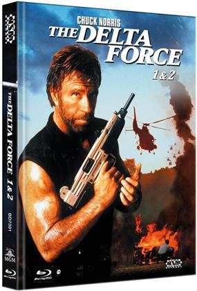 The Delta Force 1 & 2 (Limited Collector's Edition, Mediabook, 2 Blu-rays)