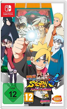 Naruto Ultimate NinjaStorm 4 Shippuden - (Code in a Box)