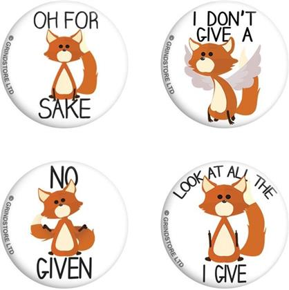 Oh For Fox Sake - Badge Pack