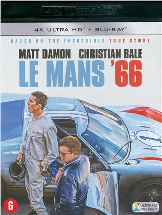 Le Mans 66 (2019) (4K Ultra HD + Blu-ray)