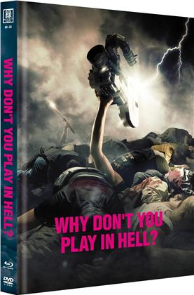 Why don't you play in hell? (2013) (Cover B, Limited Edition, Mediabook, Blu-ray + DVD)