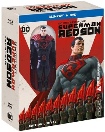 Superman - Red Son (2020) (mit Figur, Limited Edition, Blu-ray + DVD)