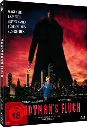 Candyman's Fluch (1992) (Cover B, Limited Edition, Mediabook, Blu-ray + DVD)
