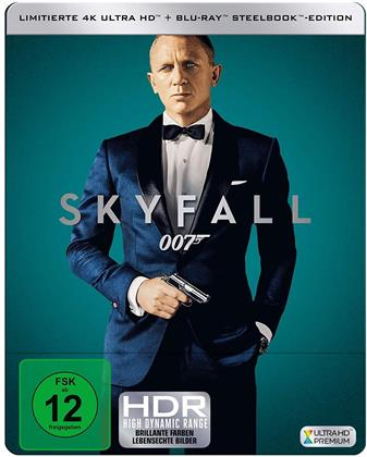 James Bond: Skyfall (2012) (Limited Edition, Steelbook, 4K Ultra HD + Blu-ray)
