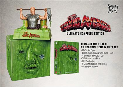 The Toxic Avenger - Ultimate Complete Edition (+ Büste, + T-Shirt, Limited Edition, Mediabook, 4 Blu-rays + 3 DVDs + CD)