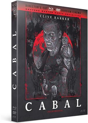 Cabal (1990) (Nouveau Master Haute Definition, Director's Cut, Kinoversion, Blu-ray + DVD)