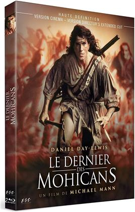 Le dernier des Mohicans (1992) (Director's Cut, Kinoversion, 2 Blu-rays)