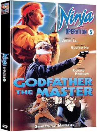 Ninja Operation 5 - Godfather the Master (1988) (Cover B, Limited Edition, Mediabook, 2 DVDs)