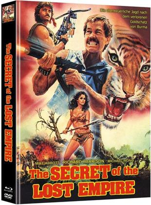 Secret of the Lost Empire (1988) (Cover A, Limited Edition, Mediabook, Blu-ray + DVD)