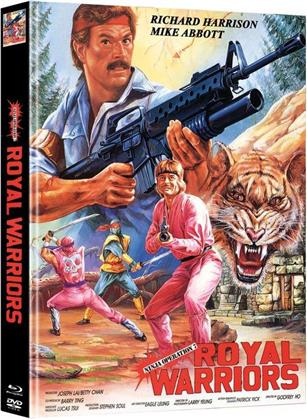 Royal Warriors - Ninja Operation 7 (1988) (Cover C, Limited Edition, Mediabook, Blu-ray + DVD)